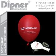 Нанесение логотипов и изображений на воздушные шары,печать на воздушные шары фото