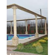 Декоративная колонна для здания D=230 мм