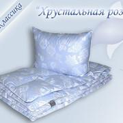 Подушка и одеяло 100 % гусиный пух фото