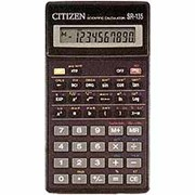 Калькулятор CITIZEN SR-135-T фото