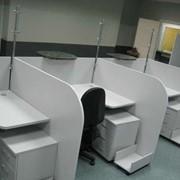 Компактный офисный стол фото