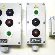 Выключатель кнопочный кнопка КУ,пост кнопочный ПКУ фото