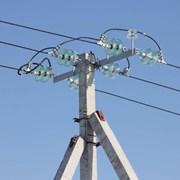 Опоры линий электропередачи ж/б фото