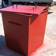 Бак ТБО ( мусорный контейнер ) металлический фото