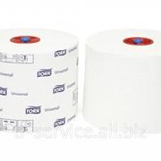 Т6 - Tork туалетная бумага Mid-size в миди рулонах (производство г. Советск) - 27 рул/кор, 1 слой фото