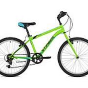 "Велосипед Stinger 24"" DEFENDER 12.5"" зеленый TY21/RS35 24SHV.DEFEND.12GN7 #117369 фото"