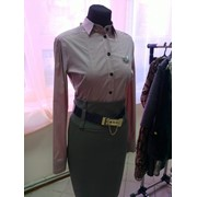 e0a99e408d1 Одежда женская дизайнерская Рубашка (цвет - пудра) фото