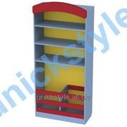Стеллаж для спортивного и песочного инвентаря М-485-1_03 608-х35х150181 фото