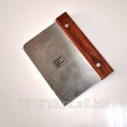 Скребок метал.с дерев.ручкой 7,5*13см Proff Chef Line LQ фото