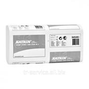 Листовые бумажные полотенца Katrin Plus One Stop M2, W-укладка - 21 пач/уп, 144 л/пач, 2 слоя фото