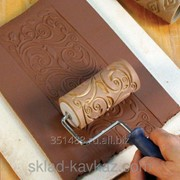 Валики из полиуретана для накатки рисунка фото