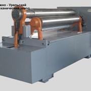 Трехвалковая листогибочная машина (вальцы) ИБ2216B фото
