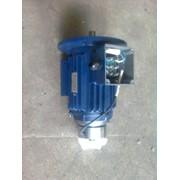 Электродвигатель с тормозом АИР63В4Е 0.37 квт * 1500об/мин фото