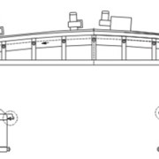 Кашировальная машина для холодного клеевого скрепления материалов и последующей горячей припрессовки материалов PE, PP, HDPP, PVC, Paper(бумага),ALфольга, модель PU-GF-В600-800-1000 фото