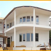 Строительство быстровозводимых, каркасных домов, Деревянные быстровозводимые каркасные дома, Строительство деревянно-каркасных домов, в Севастополе и в Крыму фото