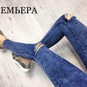 Женские стильные джинсы, Турция фото
