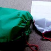 Мешочки флизилиновые на шнурке, мешочки из спанбонда, мешочки спанбонд на шнурке фото