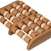 Массажер деревянный для ног, Счеты фото