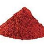 Пигмент железоокисный красный К фото