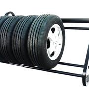 Полка для хранения автомобильных колес фото