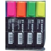 Набор маркеров текстовых Beifa 2003-4 н-р, 4 шт. фото