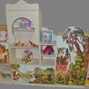 Стенка детская с платеным шкафом М-23 221х30х140 фото