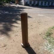Трубы керамические канализационные и дымовые. фото