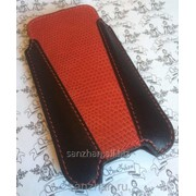 Кожаный чехол для iPhone 5/5S/5C/SE Iguana 86950 фото