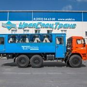 Автобус вахтовый 28 базовая УСТ 54535 Камаз 43118-46 фото