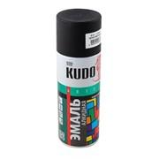 Краска эмаль Алкидная (KUDO) 520 мл черная матовая фото