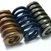 Пружины винтовые цилиндрические сжатия III класса, разряда 2 из стали круглого сечения ГОСТ 13775-86 фото