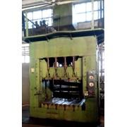 Пресс гидравлический листоштамповочный П313 фото