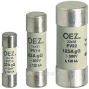 Плавкие вставки PV10, PV14, PV22 OEZ фото