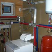 Проектирование и установка систем отопления загородного дома фото