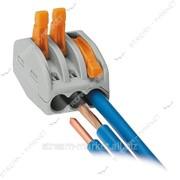 Соединительные клеммы на 3 провода WAGO 413 (с завод.надписями) №145711 фото