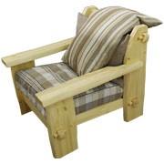 Кресло из сосны Скандинавия фото