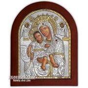 Достойно Есть - Икона Божьей Матери С Серебром И Позолотой Код товара: ОGOLD фото