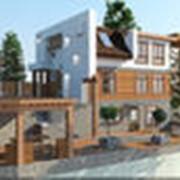 Дизайн интерьеров и экстерьеров (в том числе отдельных элементов зданий) фото