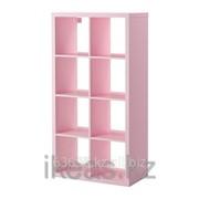 Стеллаж светло-розовый КАЛЛАКС фото