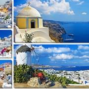 Модульная картина Греция, Неизвестен фото