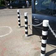 Столбик парковочный фото