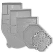 Пластиковые формы для тротуарной плитки фото