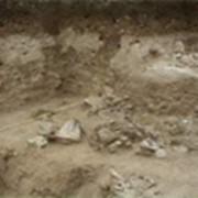 Песок строительный (супесь) фото