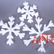 "Набор для декорации ""Снежинки, средние"" фото"