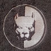 Полотенце махровое с вышивкой фото