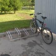 Велосипедные стойки из нержавеющей стали фото