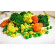 Доставка гарниров - Овощи на пару фото