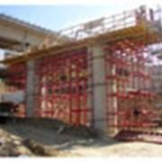 Строительство мостов, путепроводов фото