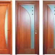 Двери из сосны фото