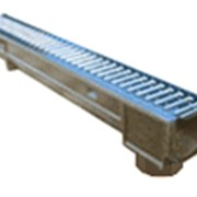 Лоток водоотводный DN100 ЛВ-10.14.07- полимерпесчаный фото